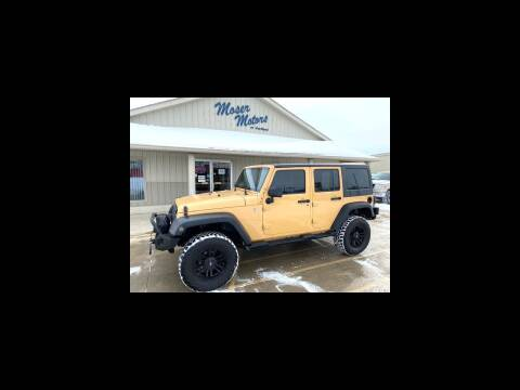 2014 Jeep Wrangler Unlimited for sale at Moser Motors Of Portland in Portland IN