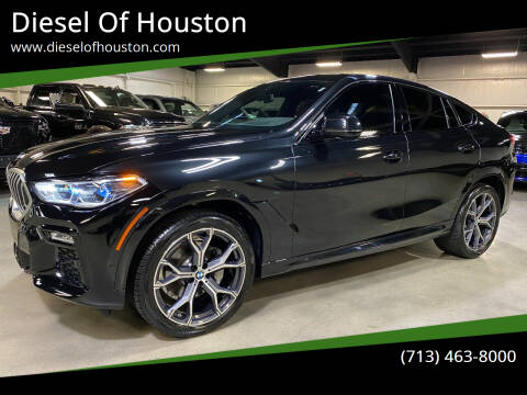 2021 BMW X6 for sale at Diesel Of Houston in Houston TX