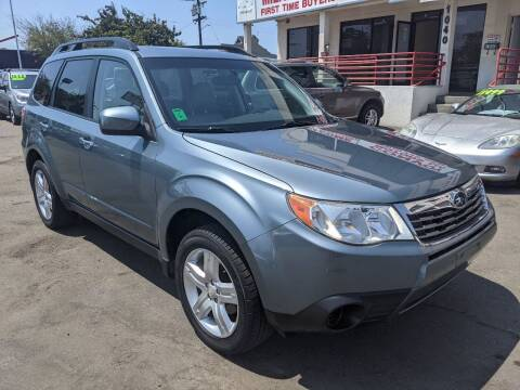 2009 Subaru Forester for sale at Convoy Motors LLC in National City CA