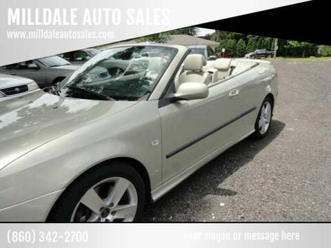 2007 Saab 9-3 for sale at MILLDALE AUTO SALES in Portland CT