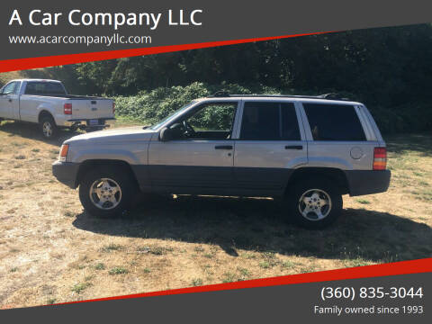 1997 Jeep Grand Cherokee for sale at A Car Company LLC in Washougal WA