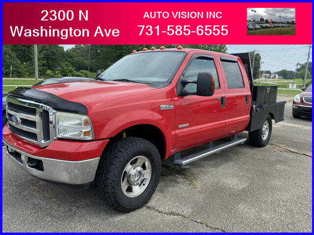 2005 Ford F-250 Super Duty for sale at Auto Vision Inc. in Brownsville TN