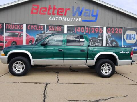 2003 Dodge Dakota for sale at Betterway Automotive Inc in Plattsmouth NE