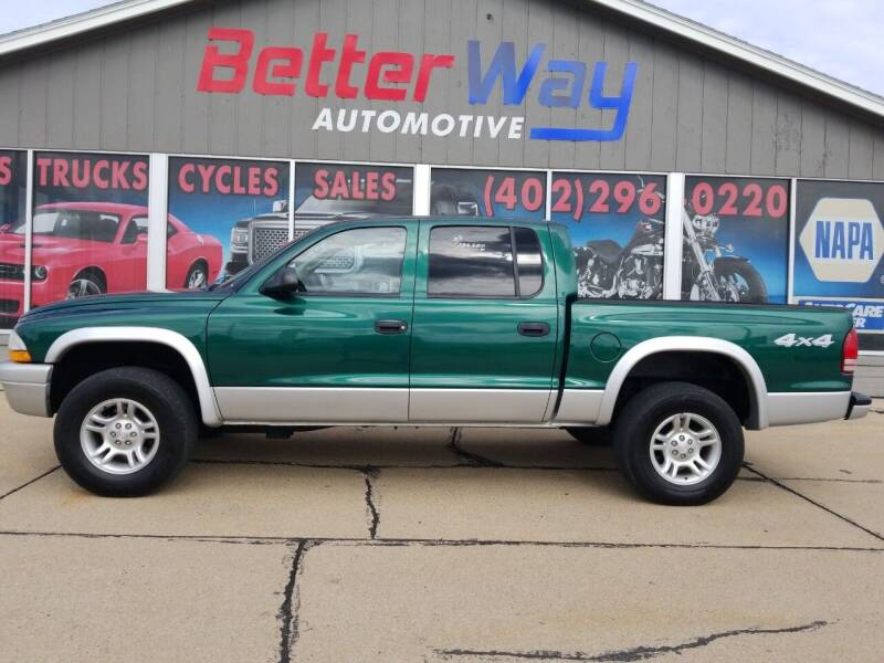 2003 Dodge Dakota for sale at Betterway Automotive Inc in Plattsmouth NE