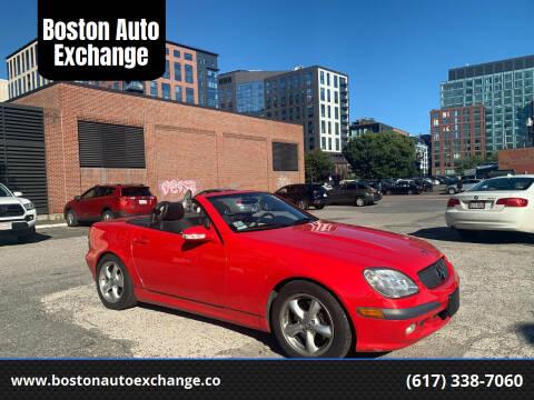 2002 Mercedes-Benz SLK for sale at Boston Auto Exchange in Boston MA