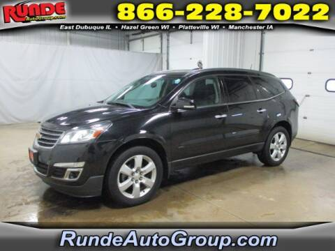 2017 Chevrolet Traverse for sale at Runde Chevrolet in East Dubuque IL