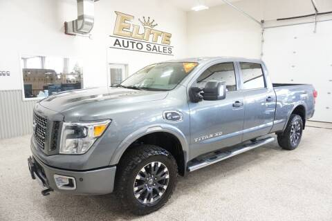 2016 Nissan Titan XD for sale at Elite Auto Sales in Ammon ID