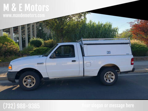 2011 Ford Ranger for sale at M & E Motors in Neptune NJ