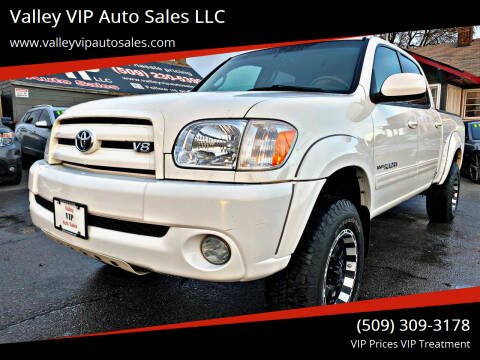 2005 Toyota Tundra for sale at Valley VIP Auto Sales LLC in Spokane Valley WA