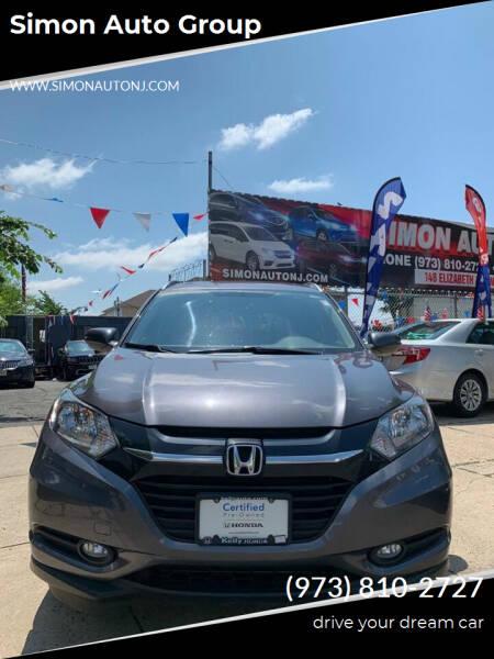 2016 Honda HR-V for sale at Simon Auto Group in Newark NJ