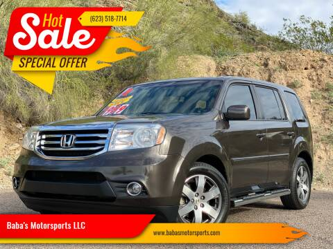 2012 Honda Pilot for sale at Baba's Motorsports, LLC in Phoenix AZ