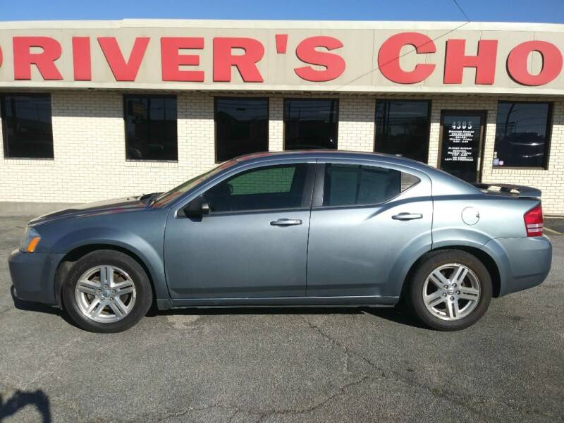 2009 Dodge Avenger for sale at Driver's Choice in Sherman TX