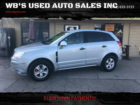 2009 Saturn Vue for sale at WB'S USED AUTO SALES INC in Houston TX
