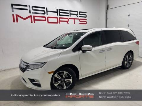 2019 Honda Odyssey for sale at Fishers Imports in Fishers IN