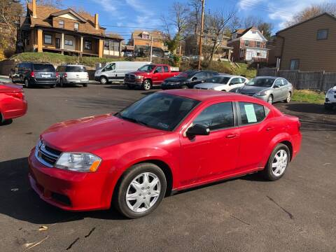 2014 Dodge Avenger for sale at Fellini Auto Sales & Service LLC in Pittsburgh PA