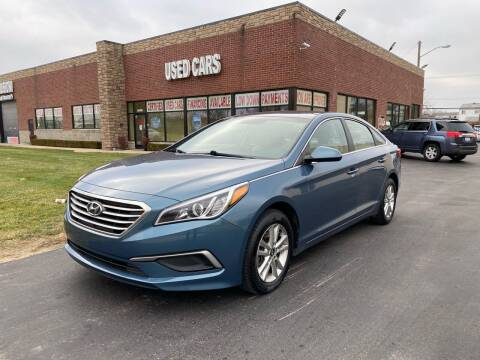 2017 Hyundai Sonata for sale at My Town Auto Sales in Madison Heights MI