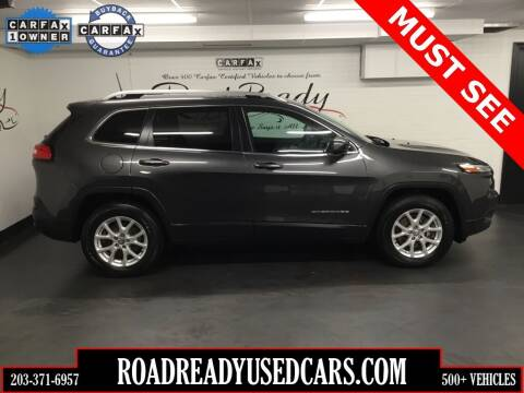 2016 Jeep Cherokee for sale at Road Ready Used Cars in Ansonia CT