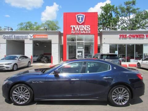 2017 Maserati Ghibli for sale at Twins Auto Sales Inc Redford 1 in Redford MI