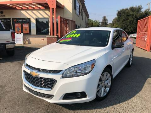 2015 Chevrolet Malibu for sale at AUTOMEX in Sacramento CA