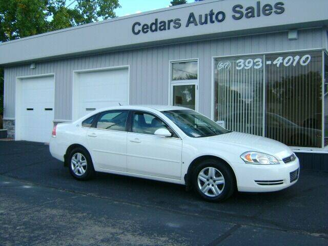 2007 Chevrolet Impala for sale at Cedar Auto Sales in Lansing MI