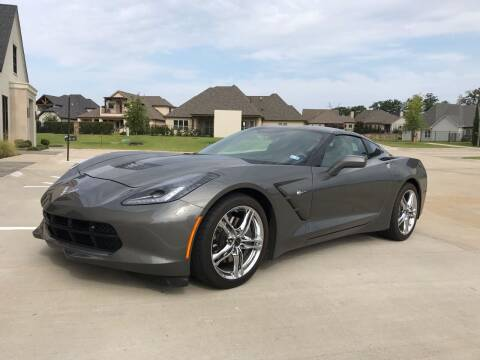 2016 Chevrolet Corvette for sale at Russell Brothers Auto Sales in Tyler TX