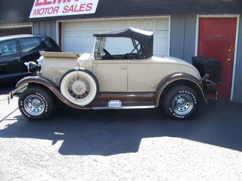 1929 Ford Model A for sale at Collector Car Co in Zanesville OH