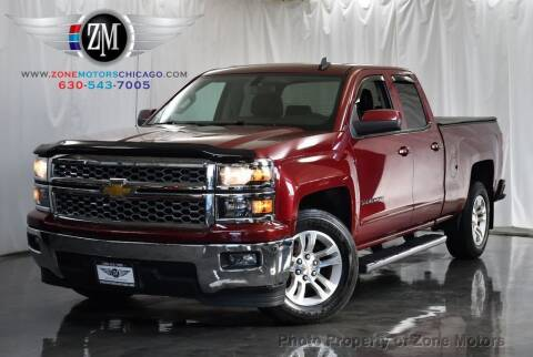 2015 Chevrolet Silverado 1500 for sale at ZONE MOTORS in Addison IL