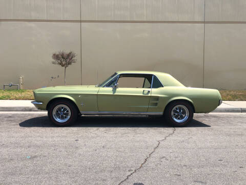 1967 Ford Mustang for sale at HIGH-LINE MOTOR SPORTS in Brea CA