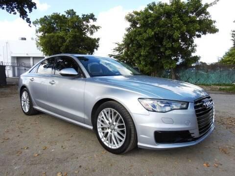 2016 Audi A6 for sale at SUPER DEAL MOTORS in Hollywood FL