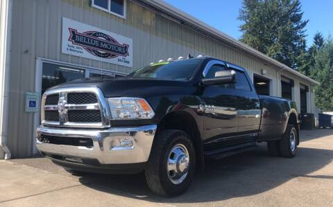 2018 RAM Ram Pickup 3500 for sale at Bellus Motors LLC in Camas WA