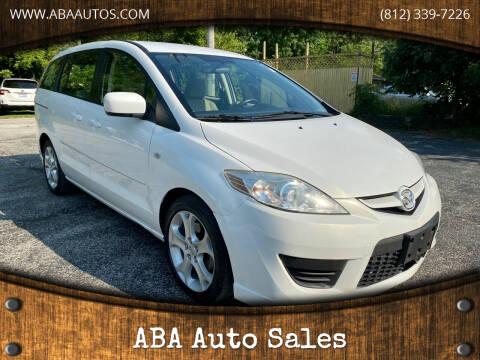 2008 Mazda MAZDA5 for sale at ABA Auto Sales in Bloomington IN