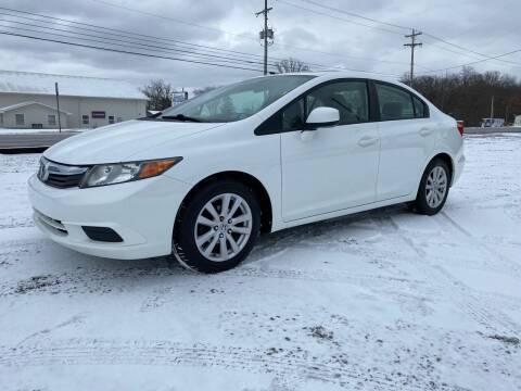 2012 Honda Civic for sale at 62 Motors in Mercer PA