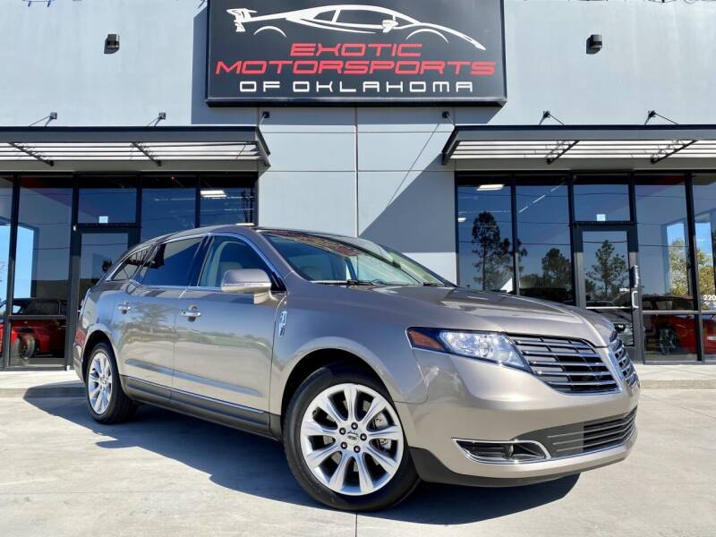 2019 Lincoln MKT for sale at Exotic Motorsports of Oklahoma in Edmond OK