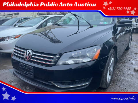 2013 Volkswagen Passat for sale at Philadelphia Public Auto Auction in Philadelphia PA