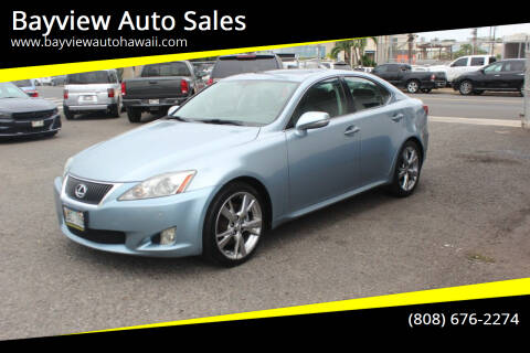 2009 Lexus IS 250 for sale at Bayview Auto Sales in Waipahu HI