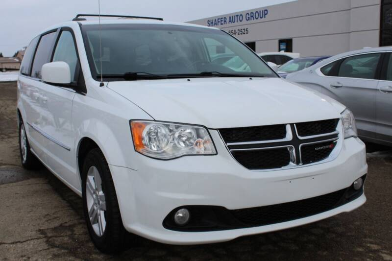 2016 Dodge Grand Caravan for sale at SHAFER AUTO GROUP in Columbus OH