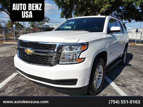 2020 Chevrolet Tahoe for sale at AUTO BENZ USA in Fort Lauderdale FL