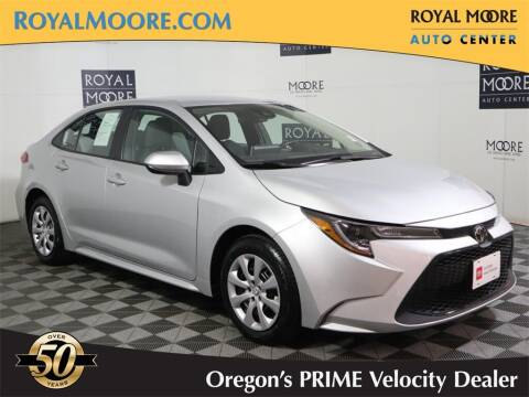 2020 Toyota Corolla for sale at Royal Moore Custom Finance in Hillsboro OR