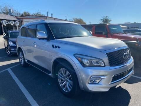 2017 Infiniti QX80 for sale at JOE BULLARD USED CARS in Mobile AL