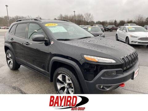 2018 Jeep Cherokee for sale at Bayird Truck Center in Paragould AR