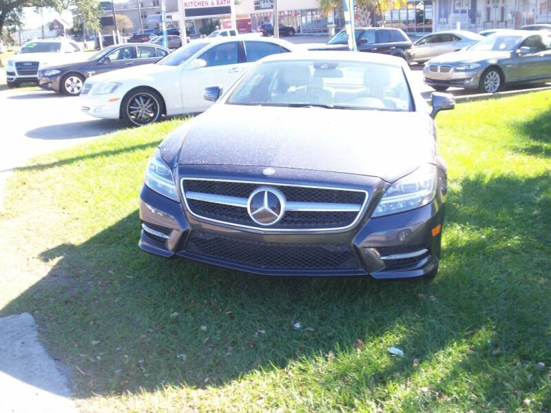 2012 Mercedes-Benz CLS for sale at Louisiana Imports in Baton Rouge LA