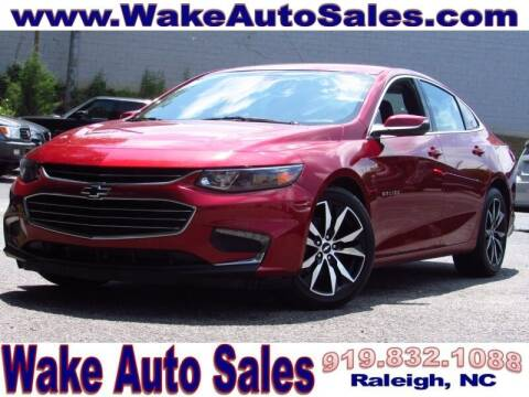 2017 Chevrolet Malibu for sale at Wake Auto Sales Inc in Raleigh NC