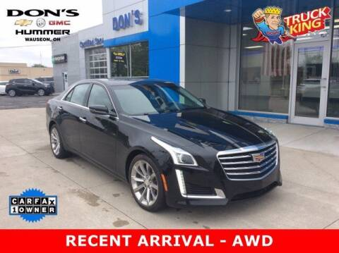 2018 Cadillac CTS for sale at DON'S CHEVY, BUICK-GMC & CADILLAC in Wauseon OH