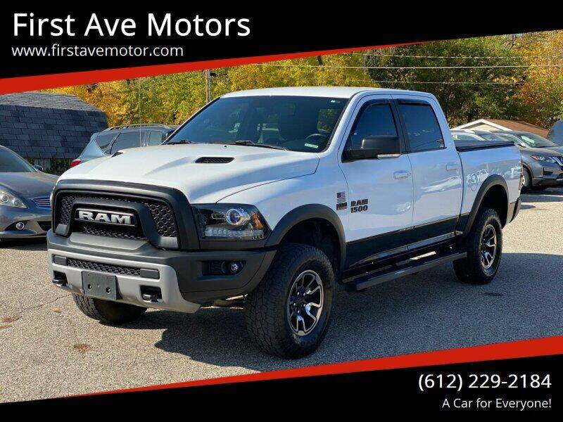 2017 RAM Ram Pickup 1500 for sale at First Ave Motors in Shakopee MN