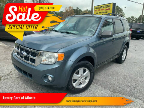 2010 Ford Escape for sale at Luxury Cars of Atlanta in Snellville GA