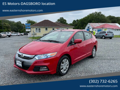 2012 Honda Insight for sale at ES Motors-DAGSBORO location in Dagsboro DE