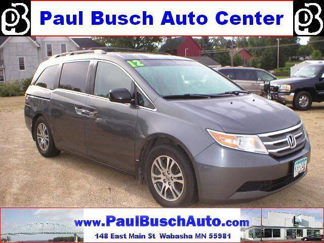 2012 Honda Odyssey for sale at Paul Busch Auto Center Inc in Wabasha MN