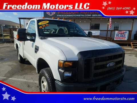 2008 Ford F-350 Super Duty for sale at Freedom Motors LLC in Knoxville TN
