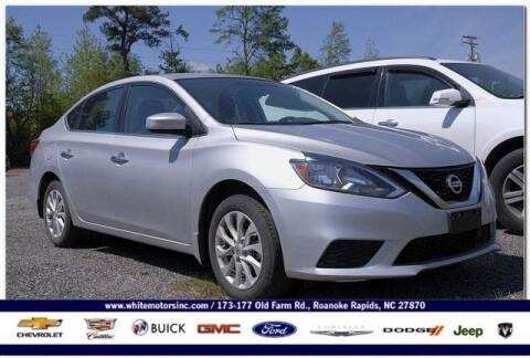2019 Nissan Sentra for sale at WHITE MOTORS INC in Roanoke Rapids NC