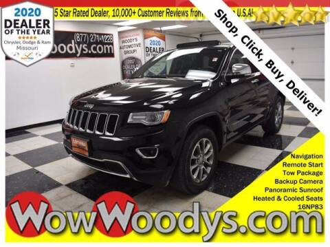 2016 Jeep Grand Cherokee for sale at WOODY'S AUTOMOTIVE GROUP in Chillicothe MO